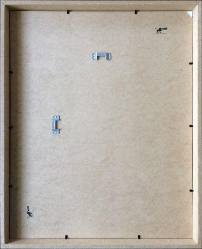 Passepartout lijst achterkant