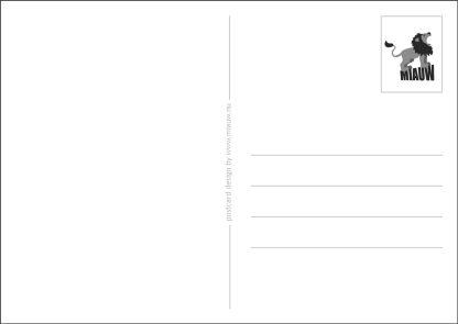achterkant postkaart algemeen