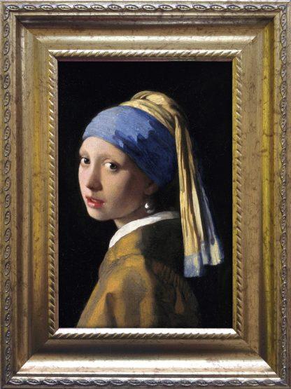 Baroklijstje Vermeer Meisje met de parel