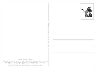 Postkaart achterkant