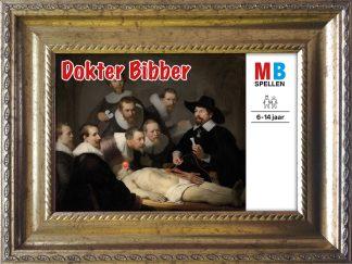 baroklijstje rembrandt anatomische les dokter bibber