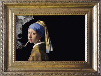 baroklijstje vermeer meisje met de parel joint