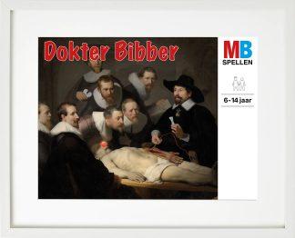 passepartoutlijst rembrandt anatomische les dokter bibber