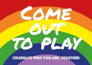 postkaart coming out lgbtqiap lesbisch gay biseksueel transseksueel queer interseksueel aseksueel panseksueel homo regenboog uit de kast