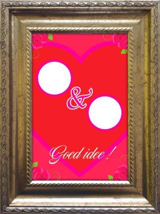 baroklijstje grappig diy valentijnscadeau - valentijnsdag - valentijnskado