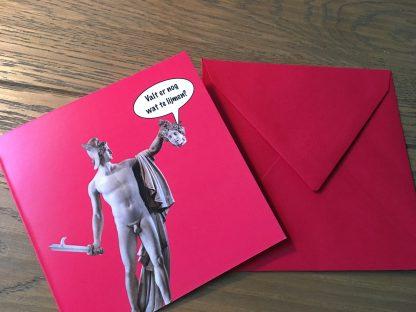 klapkaart valt er nog wat te lijmen valentijnskaart goedmaken goedmaak kaart - totaal