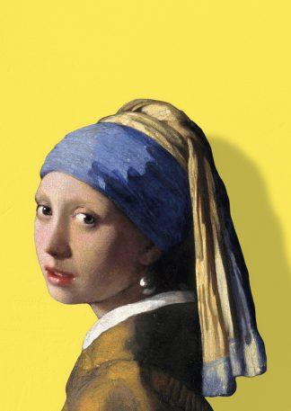 vermeer meisje met de parel schaduw licht geel