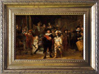 baroklijstje rembrandt nachtwacht banninck coqc ruytenburgh kunst in het klein