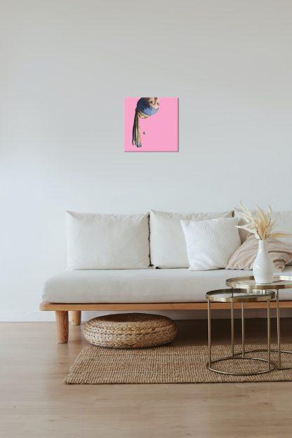 vermeer canvas schilderij meisje met de parel pop art